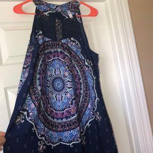 Womens XL halter neck dress